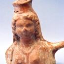 Давньогрецька амфора із зображенням Деметри